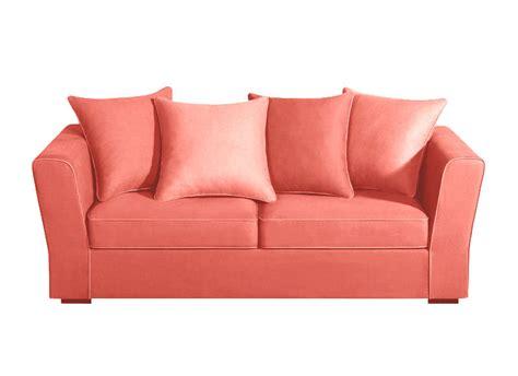 sofa pas cher canape sofa en tissu corail maty canap 233 achatdesign