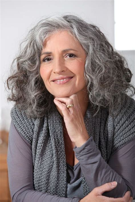 long grey hairstyles women 50 medium hairstyles for women over 50 naturally curly hair