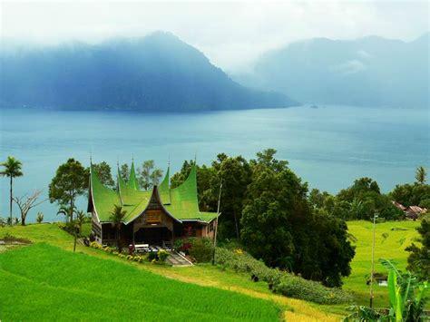 wallpaper alam minangkabau lake maninjau exotic sumatera