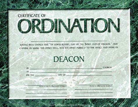 ordination certificate templates free best photos of ordination papers template bishop
