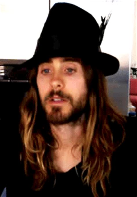 Jared Leto Hair in GIFs: The Best Ombre Ever | StyleCaster Red To Blonde Ombre Hair Tumblr
