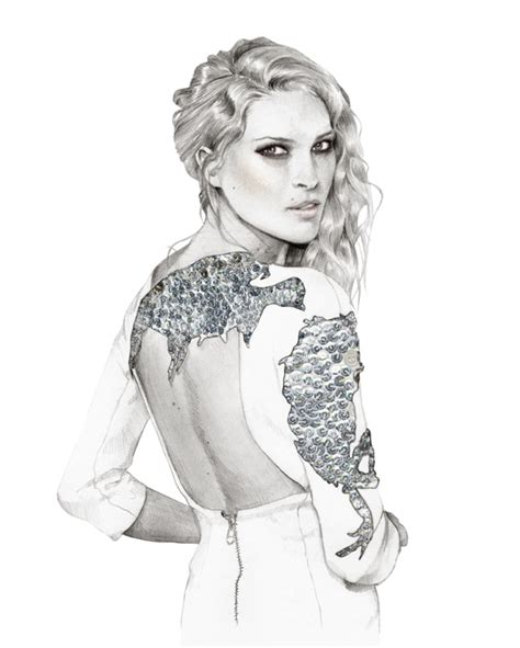 Gorgeous Fashion Illustrations by Pencil Sketch Designs Photos Pencil Sketch