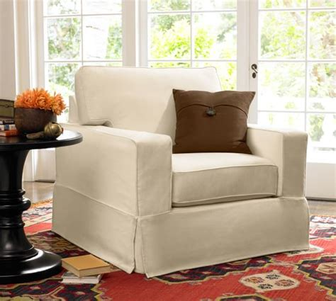 pottery barn armchair covers pb comfort square arm furniture slipcovers pottery barn