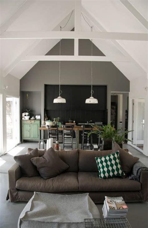 Wohnzimmereinrichtung Braun by Ein Wohnzimmer In Braun Wirkt Einladend Und Wohnlich