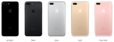 color iphone which color iphone 7 or iphone 7 plus should you buy