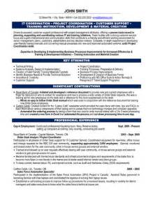Project Coordinator Resume Samples Project Coordinator Resume Sample It Search Results