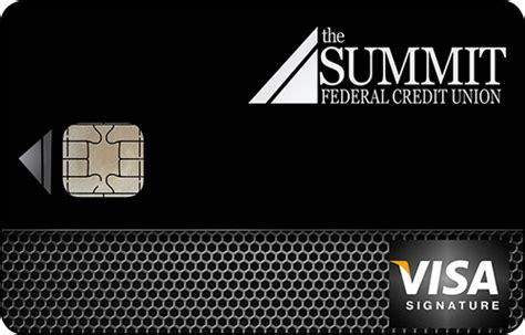 visa credit cards  summit federal credit union