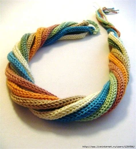 Handmade Knitting Patterns - 25 best ideas about knitted necklace on