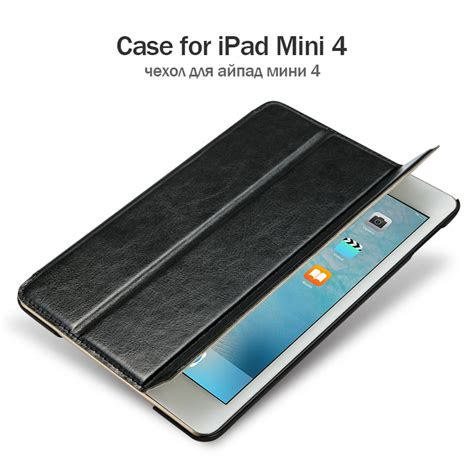 Flip Cover Smart For Mini 4 aliexpress buy jisoncase luxury smart tablet for mini 4 flip cases magnet pu