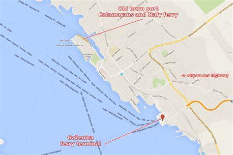 catamaran zadar to dugi otok zadar ferry terminal catamaran and car ferry departures