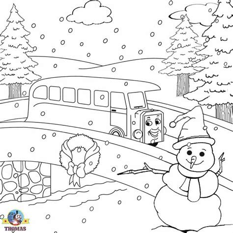 coloring sheets winter holiday free christmas coloring pages for kids printable thomas