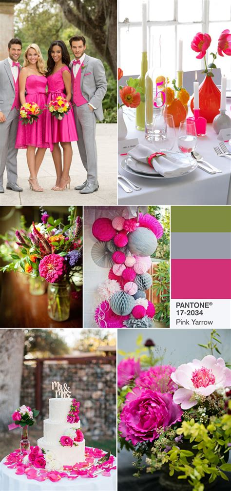 10 spring wedding colors from pantone for 2017
