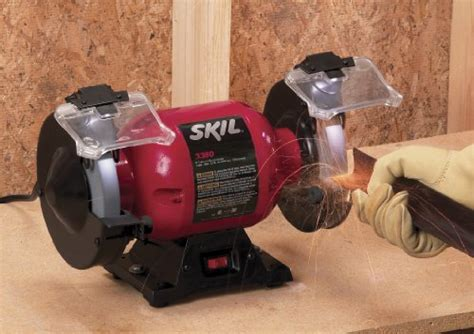 good bench grinder skil 3380 01 6 inch bench grinder power tools