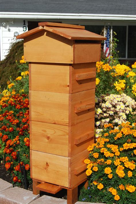 Backyard Honey Bee Hive by Warre Bee Hive Farm Garden And Beyond