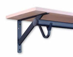 sterling rp 0495 brz heavy duty shelf and rod bracket