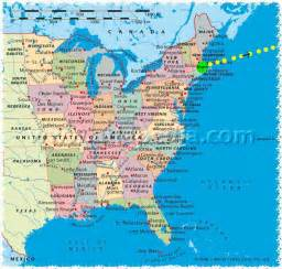 Map Of The East Coast United States by I Think Not