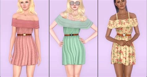 my sims 3 blog summer my sims 3 blog love paradise summer dress for teen to
