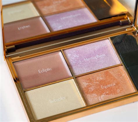 Sleek Highlight Palette Solstice sleek solstice highlighting palette and strobing tutorial the styling dutchman
