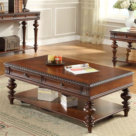 pieces included in this set homelegance westfeldt 3 piece coffee table set in rich