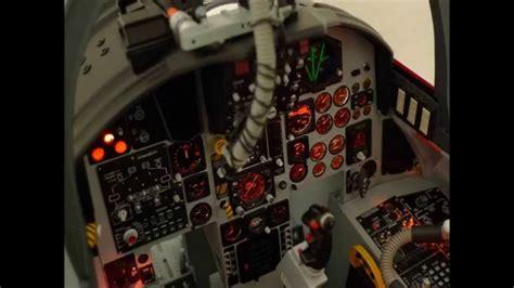COCKPIT F 15 C BBI ELITE FORCE 1/6 - YouTube F 15 Cockpit