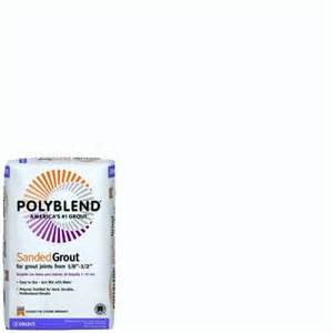 grout at home depot custom building products polyblend 381 bright white 25 lb