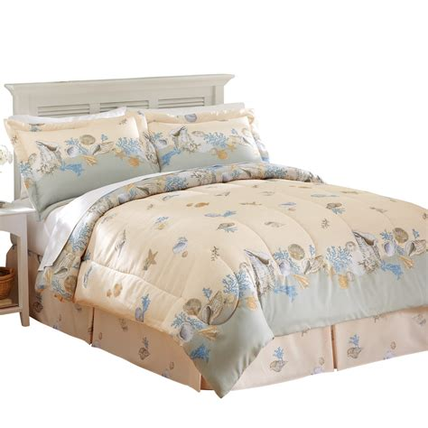 beach comforter set seaside beach comforter set 4 pc by collections etc ebay