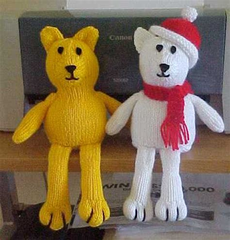 teddy knitting patterns free free teddy knitting pattern