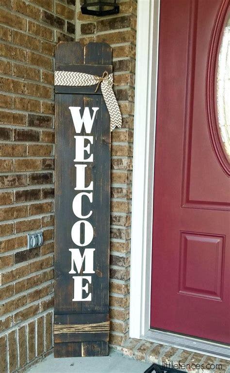 signs front door ideas  pinterest
