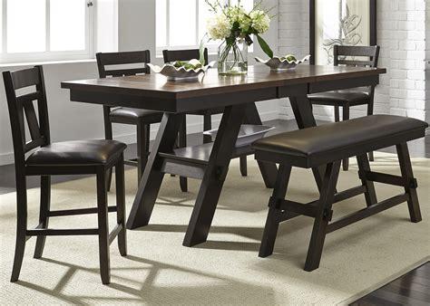 liberty furniture lawson 6 gathering table set