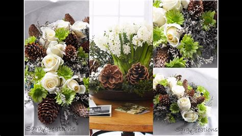 flower arrangement pictures with theme winter theme flower arrangement ideas youtube