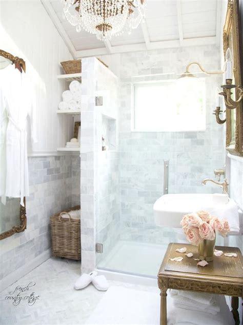 Blue french country bathroom design ideas