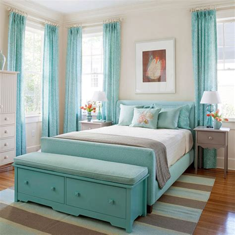 Aqua Themed Bedroom by Aqua Bedroom Ideas