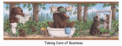 Renee Robinson S Blog Bear Moose Fun July 12 2013 06 32 Taking Care Of Business Bathroom Accessories