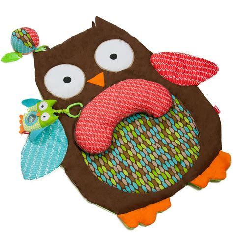 Skip Hop Treetop Friends Tummy Time Mat Owl by Skip Hop Treetop Friends Tummy Time Mat Baby Toys