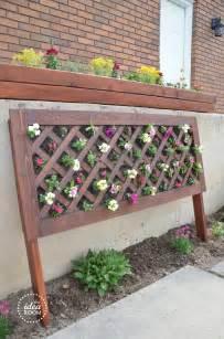 Diy Freestanding Vertical Garden Diy Vertical Flower Bed The Idea Room