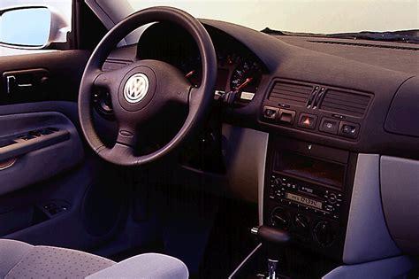 Volkswagen Jetta 2001 Interior by 1999 05 Volkswagen Golf Jetta Consumer Guide Auto
