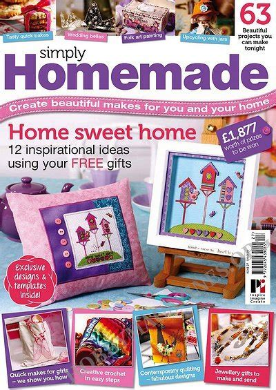 Simply Handmade Magazine - simply 27 2013 187 hobby magazines free