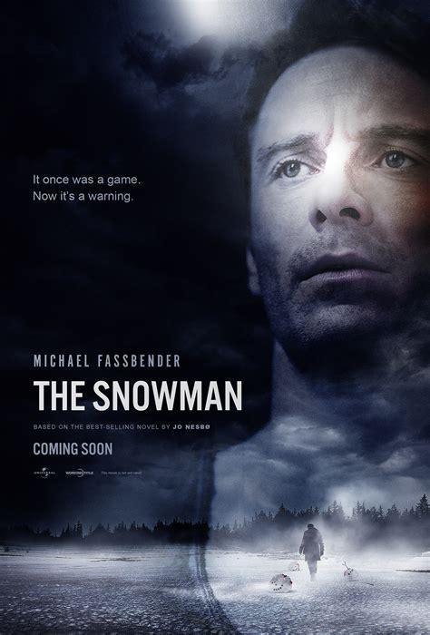film 2017 the snowman the snowman 2017 fan art on behance
