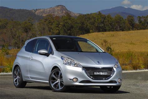 peugeot models australia peugeot 208 drive peugeot australia launches bold
