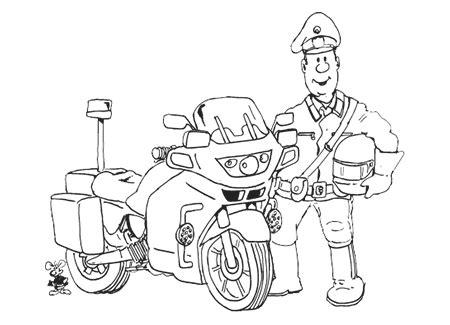 Motorrad Für Kinder by Ausmalbild Polizei Motorrad 83 Malvorlage Polizei