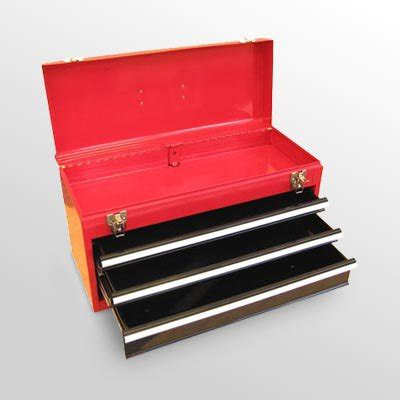 Portable Tool Boxes With Drawers by Excel 3 Drawer Portable Tool Box Walmart