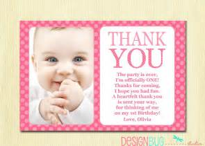 thank you cards birthday birthday matching thank you card 4x6 the big one diy