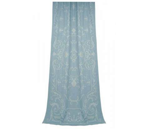 blue linen drapes blue linen curtains white linen curtain ombr 232 blue