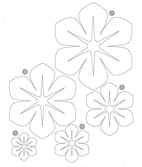 Filz Vorlagen Muster Filzblumen Selber Machen Kreative Bastelideen Aus Filz