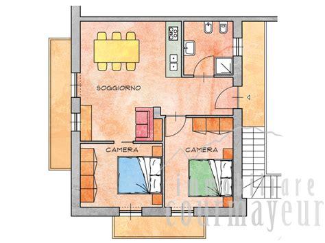 Planimetria Appartamento 70 Mq by Morgex La Ruine Appartamenti Nuovi 70 110 Mq