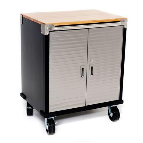 Garage Cabinets Hanging 7 Standard Garage Storage System With Stainless