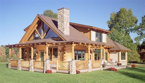log home trim 171 real log style