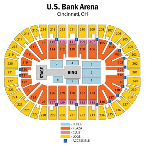 bank arena seating chart world entertainment january 25 tickets