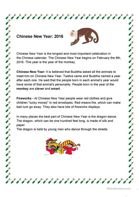 new year activities for elementary school new year 2016 worksheet free esl printable