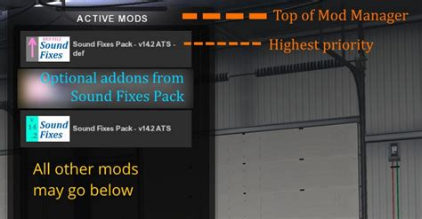 ets2 mod game fixes sound fixes pack v 14 2 1 for ats euro truck simulator 2 mods